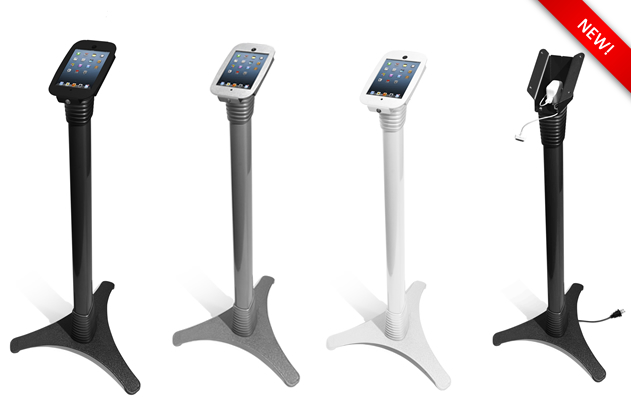 The New Maclocks SPACE Security Floor Stand for iPad mini