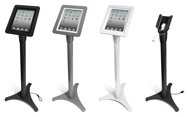 MacLocks Adjustable iPad Stand Kiosk - Metal Executive iPad Enclosure