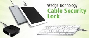 Maclocks - Wedge Technology Security Cable Lock