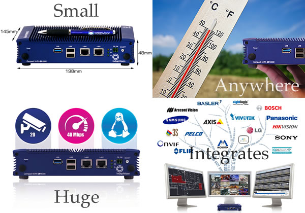 The Indigovision Compact Nvr As 4000 New Product Leapa